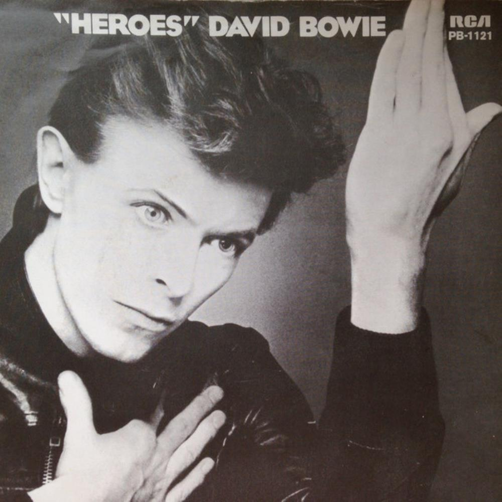 David Bowie - Heroes CD (album) cover