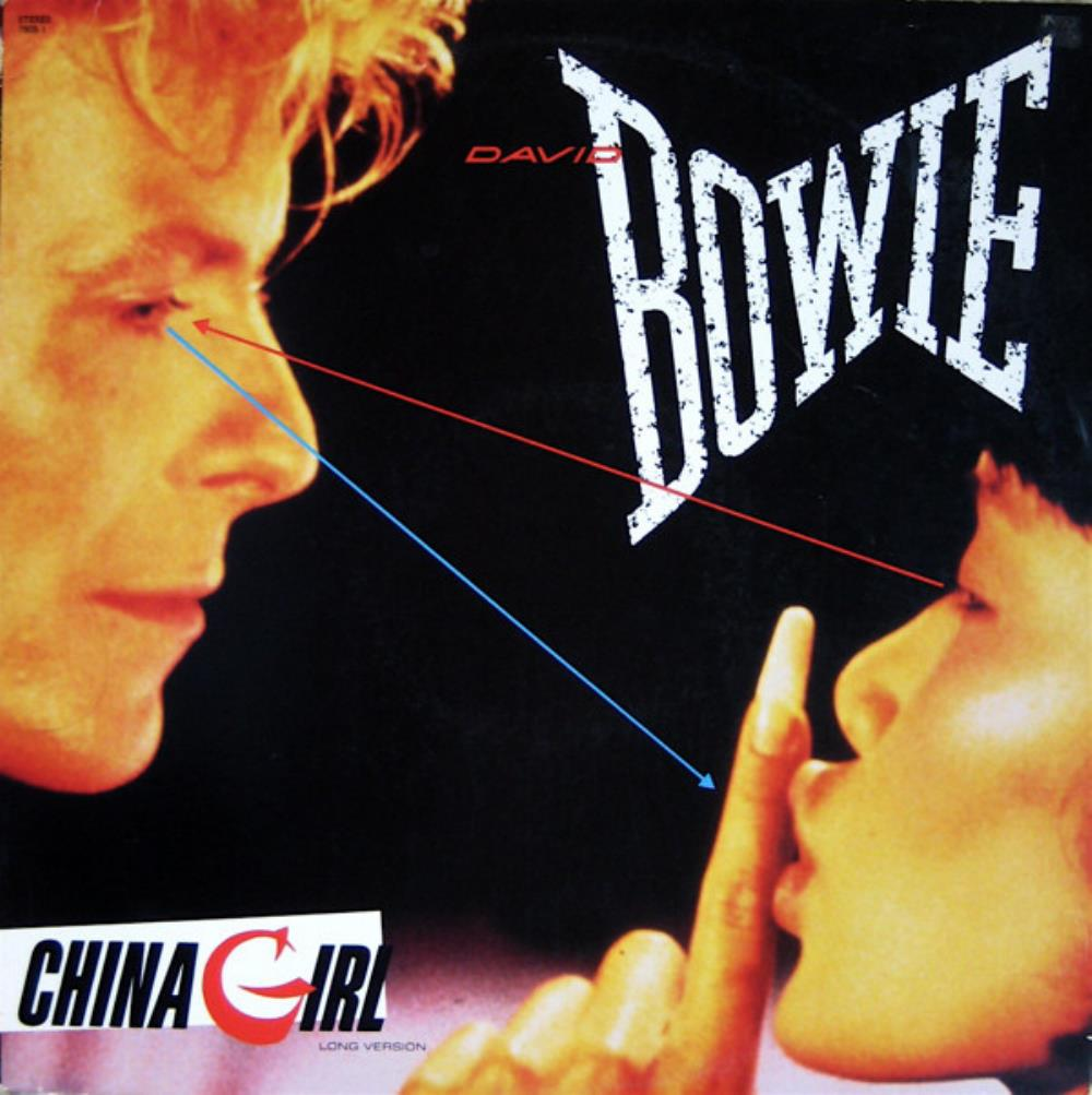 David Bowie - China Girl CD (album) cover