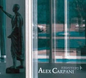 Alex Carpani Band - 4 Destinies CD (album) cover