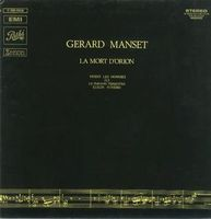 Gerard Manset - La Mort D'Orion CD (album) cover