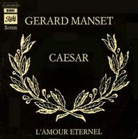 Gerard Manset - Caesar / L'amour éternel CD (album) cover