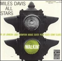Miles Davis - Walkin' CD (album) cover