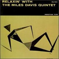 Miles Davis - Relaxin' CD (album) cover