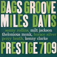 Miles Davis - Bags' Groove CD (album) cover