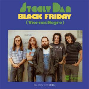 Steely Dan - Black Friday CD (album) cover