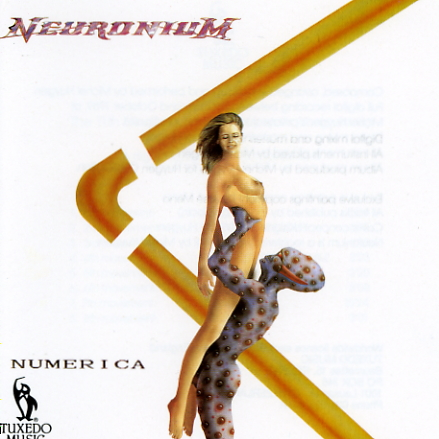 Neuronium - Numerica CD (album) cover