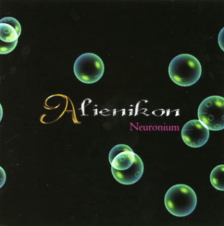 Neuronium - Alienikon CD (album) cover