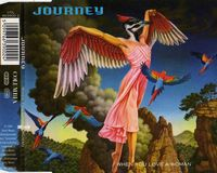 Journey - When You Love A Woman CD (album) cover