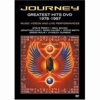 Journey - Greatest Hits DVD 1978-1997 DVD (album) cover