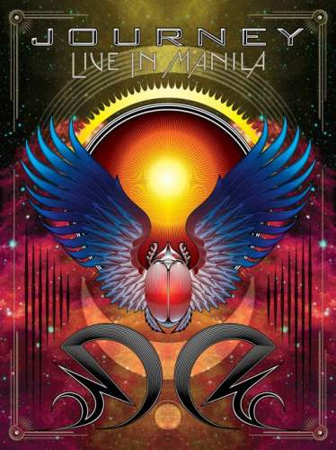 Journey - Live In Manila DVD (album) cover