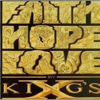 King's X - Faith Hope Love CD (album) cover