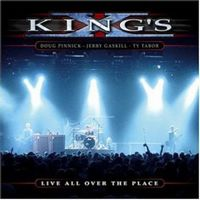 King's X - Live All Over The Place CD (album) cover
