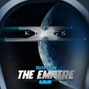 King's X - Tales From The Empire: Cleveland 6.26.92 CD (album) cover