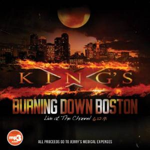 King's X - Burning Down Boston: Live At The Channel CD (album) cover