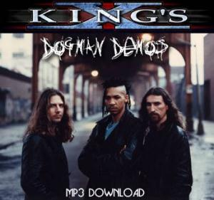 King's X - Dogman Demos CD (album) cover