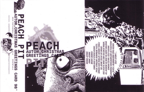 Peach Pit - Autom / Christmas Greetings Card '98 CD (album) cover