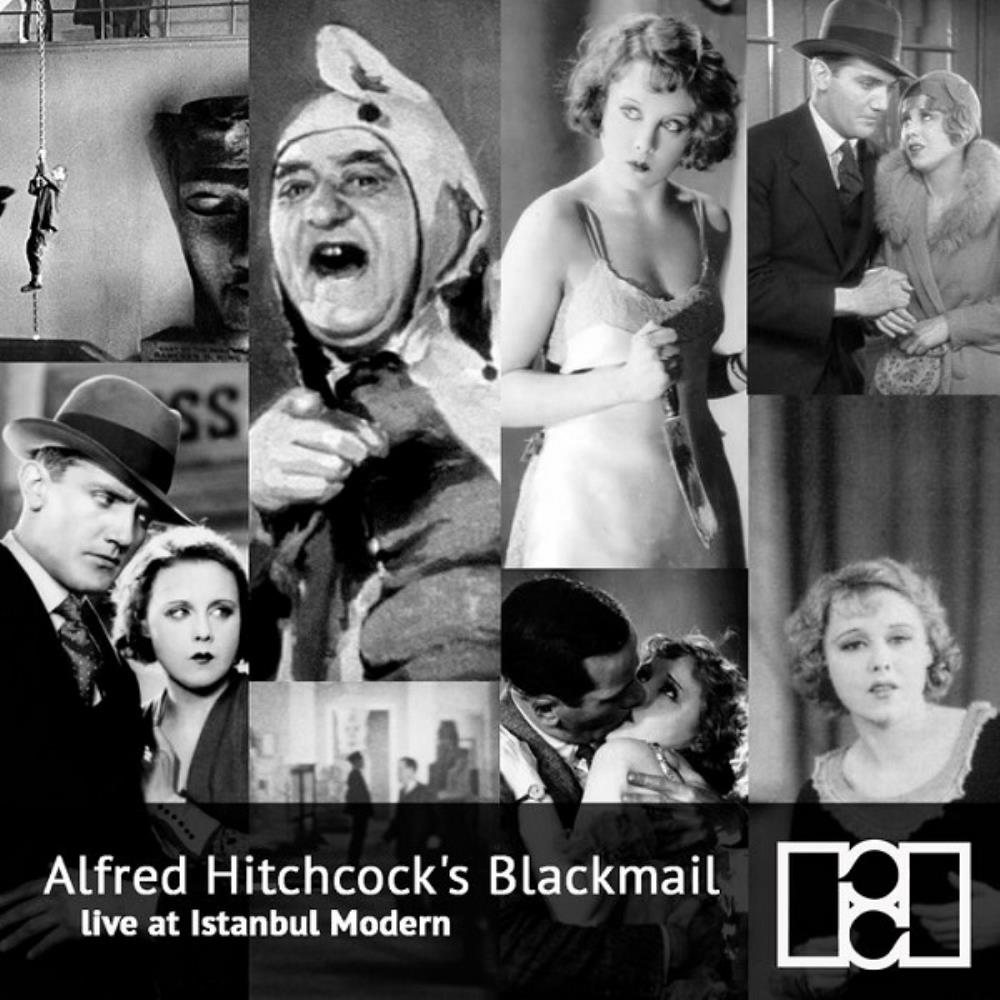 Replikas - Alfred Hitchcock's Blackmail - Live At Istanbul Modern CD (album) cover