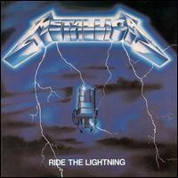 Metallica - Ride The Lightning CD (album) cover