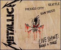 METALLICA - Live Shit: Binge And Purge CD album cover