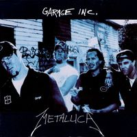 Metallica - Garage Inc. CD (album) cover