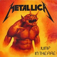Metallica - Jump In The Fire CD (album) cover