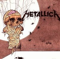 Metallica - One CD (album) cover