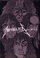 Metallica - Cliff 'Em All DVD (album) cover