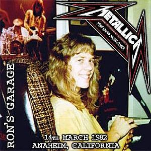 Metallica - Ron Mcgovney's '82 Garage Demo CD (album) cover