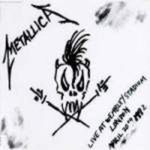 Metallica - Live At Wembley Stadium CD (album) cover