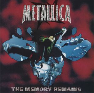 Metallica - The Memory Remains CD (album) cover