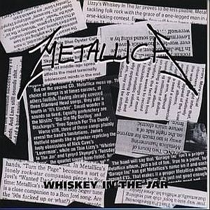 Metallica - Whiskey In The Jar CD (album) cover