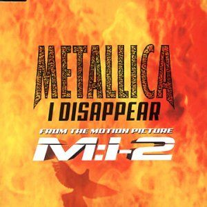 Metallica - I Disappear CD (album) cover
