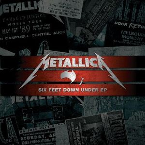 Metallica - Six Feet Down Under Ep CD (album) cover