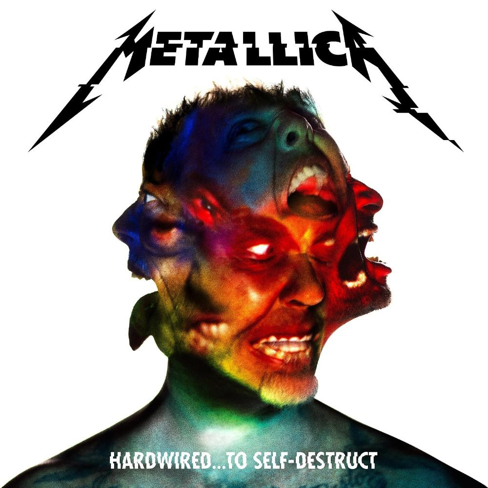 Metallica - Hardwired...to Self-destruct CD (album) cover