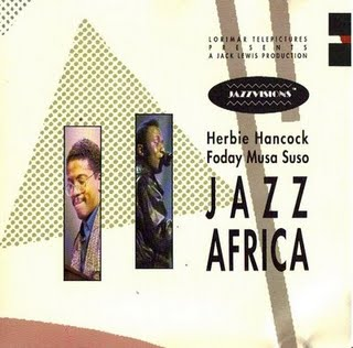 Herbie Hancock - Jazz Africa (with Foday Musa Suso) CD (album) cover