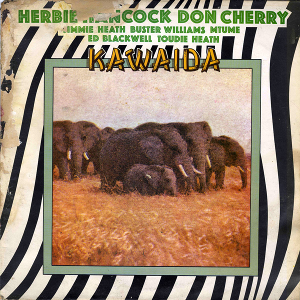 Herbie Hancock - Kawaida (with Don Cherry) CD (album) cover