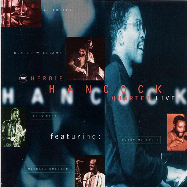 Herbie Hancock - Quartet Live CD (album) cover