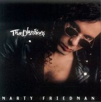 Marty Friedman - True Obsessions CD (album) cover