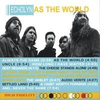 Echolyn - As The World CD (album) cover