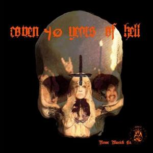 Coven - 40 Years Of Hell CD (album) cover