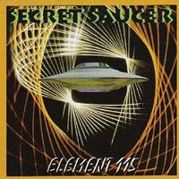 Secret Saucer - Element 115 CD (album) cover