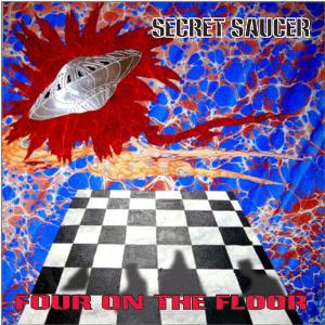 Secret Saucer - Four On The Floor CD (album) cover