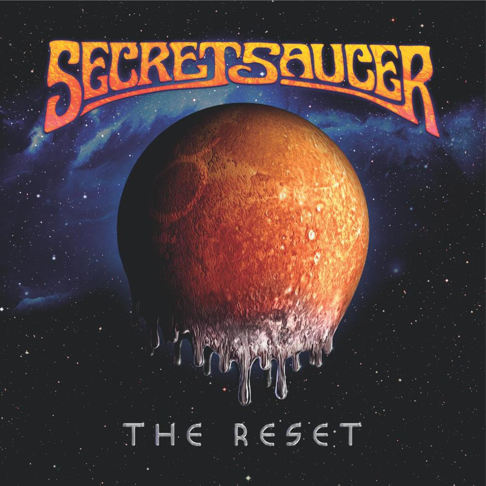 Secret Saucer - The Reset CD (album) cover