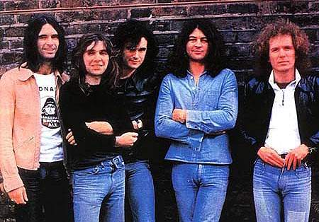 IAN GILLAN BAND image groupe band picture