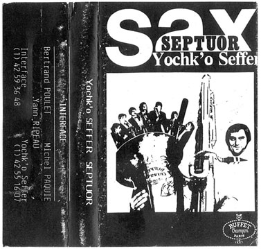 Yochk'o Seffer - Septuor CD (album) cover