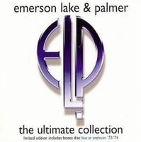 ELP (EMERSON LAKE & PALMER) - The Ultimate Collection CD album cover