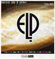 ELP (EMERSON LAKE & PALMER) - Lucky Man (live Compilation) CD album cover