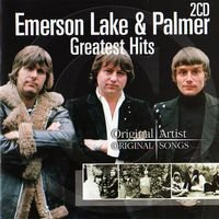 ELP (EMERSON LAKE & PALMER) - Greatest Hits CD album cover