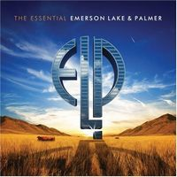 ELP (EMERSON LAKE & PALMER) - The Essential Emerson, Lake & Palmer CD album cover