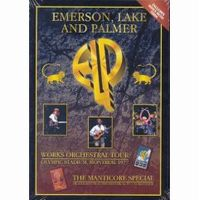 ELP (EMERSON LAKE & PALMER) - Works Orchestral Tour/Manticore Special CD (album) cover